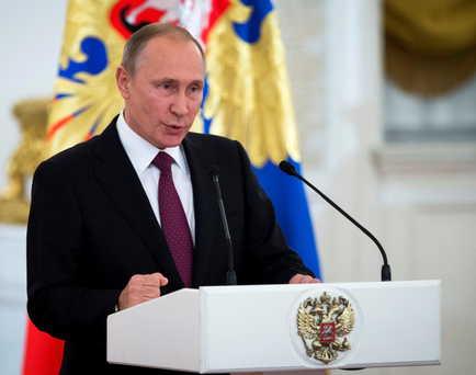 Vladimir Putin accused the US earlier this year of failing to live up to its commitments under the plutonium management deal