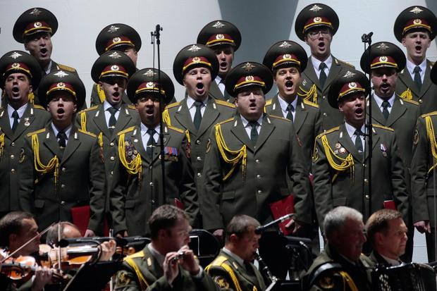 The Alexandrov Ensemble performing recently. Photo: Getty Images