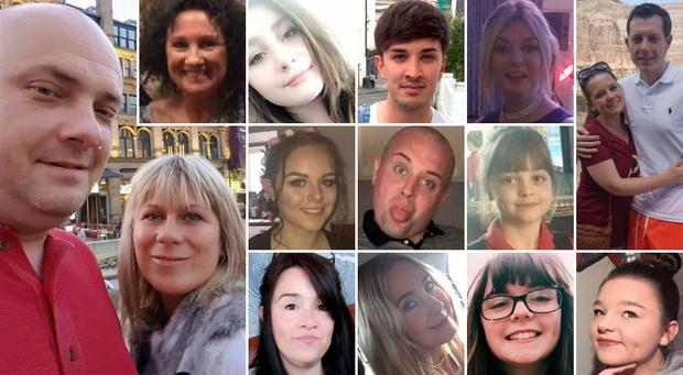 15 of the 22 victims of the Manchester terror attack.