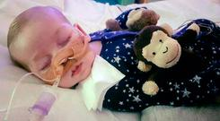 Charlie Gard Photo: PA