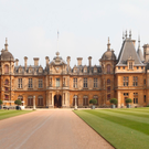 Waddesdon Manor in Buckinghamshire, near to where a helicopter and a small plane collided in mid-air. Photo: PA