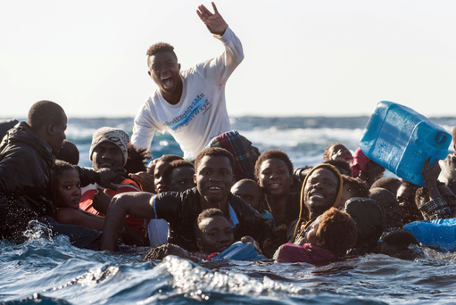 Capsizing off Libya is feared to have killed 90