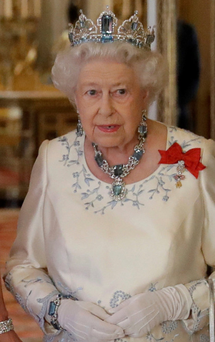 The British queen is the head of the Commonwealth