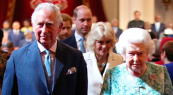 Prince Charles's bid to take up the role held by his mother will be discussed by heads of state today. Photo: PA