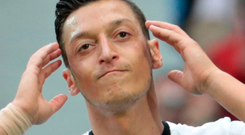 Ozil. Photo: Getty Images