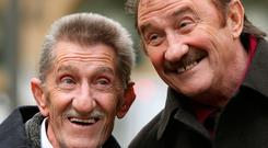 Barry (left) and Paul Elliott, who found fame as the comic duo The Chuckle Brothers Photo: PA