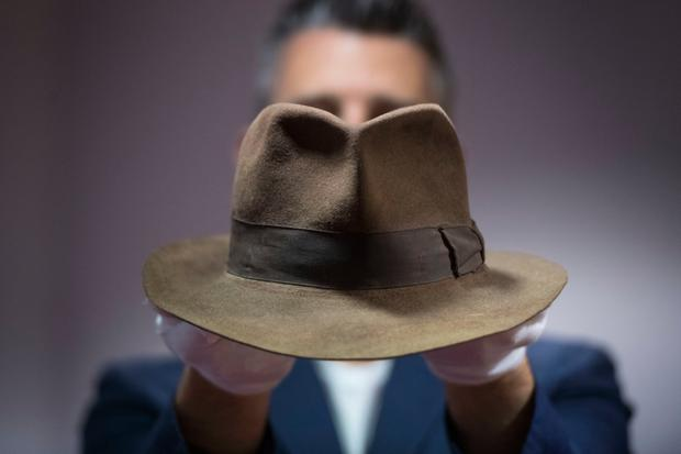 Hat trick: Indiana's fedora. Photo: Victoria Jones/PA Wire