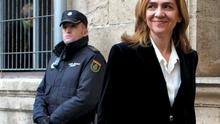 Spain's Princess Cristina, sister of King Felipe, rrives at a courthouse to testify before judge Jose Castro over tax fraud and money-laundering charges in Palma de Mallorca (REUTERS/Paul Hanna)