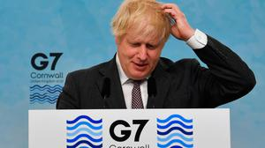 Boris Johnson is expected to announce a delay to reopening plans. Photo: Ben Stansall - WPA Pool/Getty Images