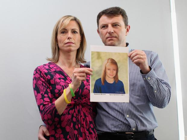 Madeleine McCann has been missing for almost ten years Photo:Getty