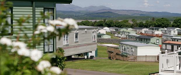 Old Park Wood Holiday Park in the Lake District, Cumbria. Photo: Old Park Wood