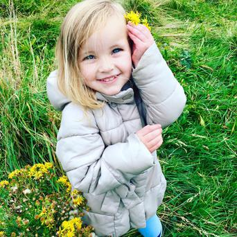 Blossom (4) died in Spain while on a family holiday. Photo: Facebook
