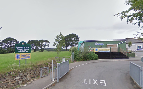 The running ban at Hillfort Primary School in Liskeard was introduced by headmaster Dr Tim Cook