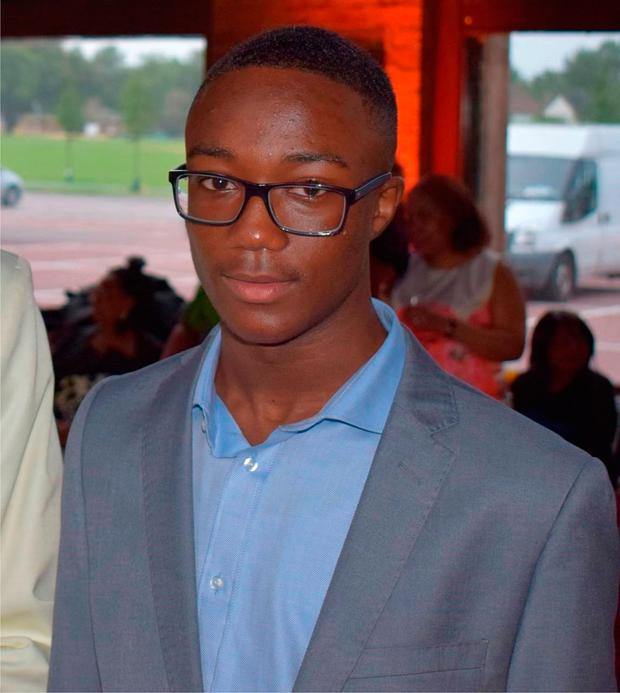Jamel Boyce who was left critically ill after being stabbed in the chest and leg during an altercation with four males on a street in Clapham. Photo: PA