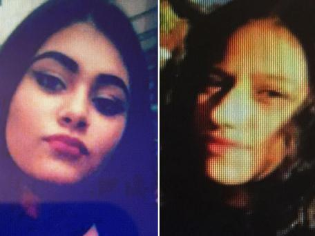 Helina Kotlarova, 12 (left), was killed in the incident, while Zaneta Krokova, 11 (right), is fighting for her life PA