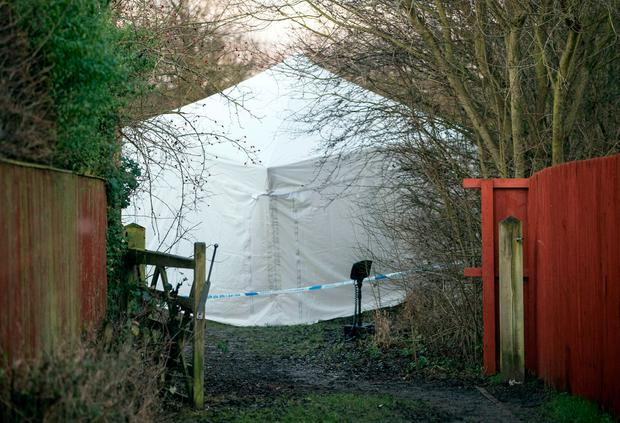 Police activity in the Woodthorpe area of York, where a teenager was arrested Monday after the death of a seven-year-old girl. Photo: Danny Lawson/PA Wire
