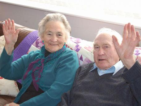 Vera and Wilf Russell got married after the Second World War Photo: Facebook