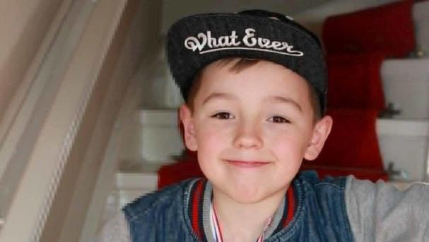 Ciaran Williamson died after being hit by a falling gravestone (PA/Police Scotland)