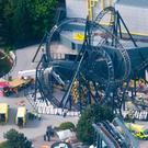 The Smiler after the accident in 2015