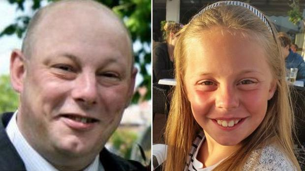 Andrew Broadhead, 42, and his eight-year-old daughter Kiera died in the fire at their home Photo: West Yorkshire Police