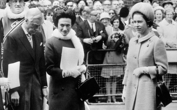 Duke and Duchess of Windsor with the Queen in 1967 Credit: PA