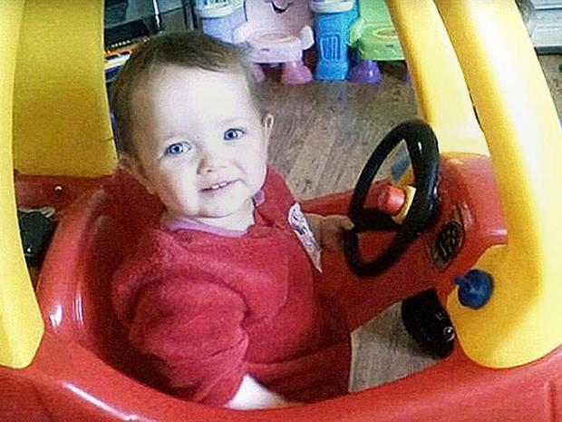 Poppi Worthington collapsed in at her home in 2012 PA / family handout