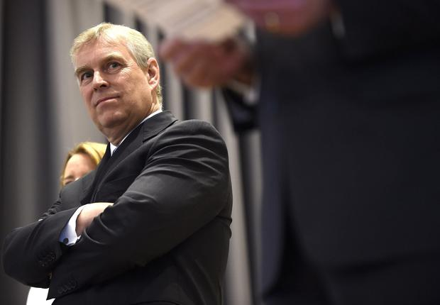 Prince Andrew. Photo by Alexander Koerner/Getty Images