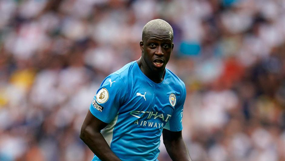Manchester City player Benjamin Mendy. Photo: PA Wire