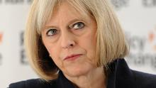 """Theresa May told the House of Commons the change """"reflects the continuing threat from dissident republican activity"""" (PA)"""