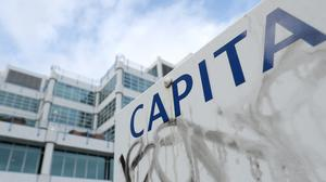 Around 60% of Capita's staff are working from home (Andrew Matthews/PA)