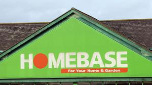 Homebase has struck an in-store concession deal with carpet firm Tapi (Steve Parsons/PA)