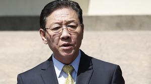 Kang Chol's expulsion came days after Malaysia said it would scrap visa-free entry for North Koreans (AP)