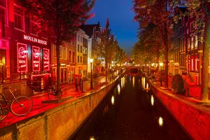 LIGHTS OUT: Amsterdam's main red light area shut in March