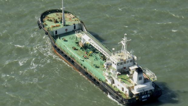 Pirates have hijacked an oil tanker off the coast of Somalia (Kevin Finnigan/Tropic Maritime Images via AP)