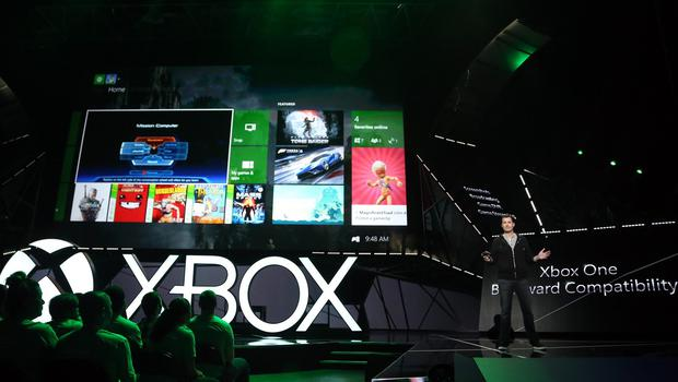 Xbox head of platform engineering Mike Ybarra discusses details of Xbox One Backward Compatibility (Invision for Microsoft/AP)