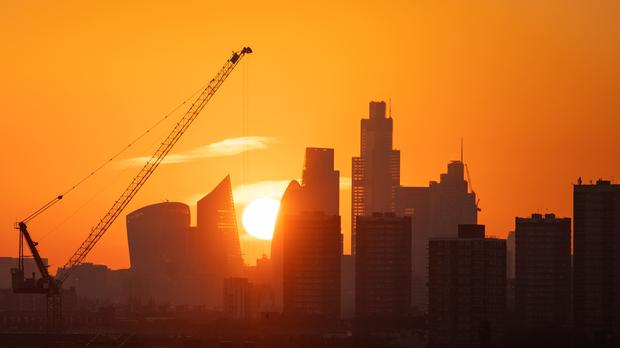 London's top index closed up on Thursday (Dominic Lipinski/PA)