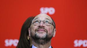 "The result derailed the so-called ""Schulz effect"" (AP)"