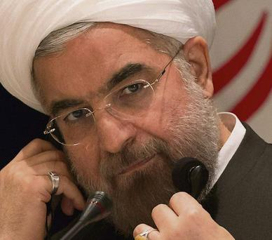 Iran's President Hassan Rouhani: wants a deal with the West in months