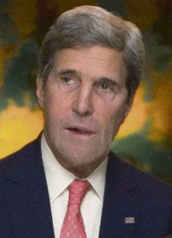 NEGOTIATIONS: John Kerry