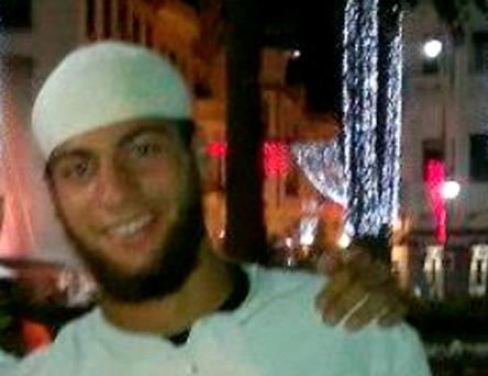 Ayoub El-Khazzani (25), who was overpowered by passengers during an attack aboard an Amsterdam-Paris train