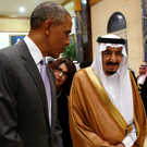 President Obama with King Salman Photo: Reuters