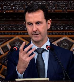 President of Syria, Bashar al-Assad. Photo: AP