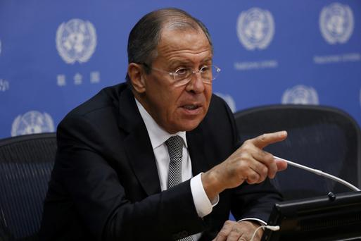 Russian Foreign Minister Sergei Lavrov Picture: Reuters