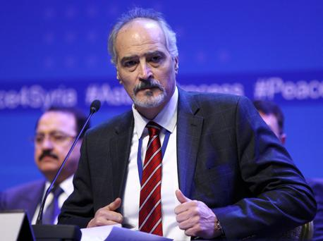 Bashar Jaafari. Photo: Reuters