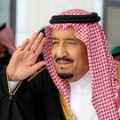 Annual address: Saudi Arabia's King Salman hit out at arch-rivals Iran. Photo: Bandar Algaloud/Courtesy of Saudi Royal Court/Handout via REUTERS