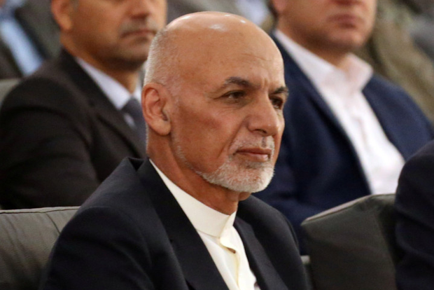 Ashraf Ghani: President has vowed to push ahead with election. Photo: Omar Sobhani/Reuters