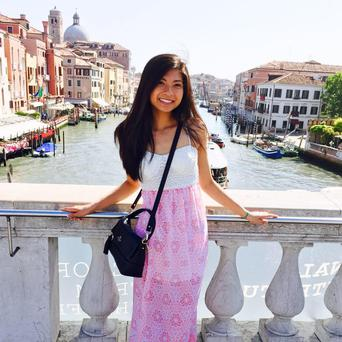 Anna Bui, the gunman's ex-girlfriend was shot dead at the party. Photo: Facebook