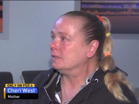 Mother Cherry West lost two daughters to murder 20 years apart Photo: Fox4News screengrab