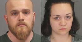 Richard Gamache Jr. (24) and Cheyenne Cook (19) Photo: Jefferson County Sheriff's Office