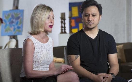 ABC News' Barbara Walters interviews Mary Kay Letourneau Fualaau and husband Vili Fualaau Photo: ABC News